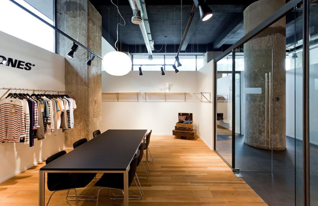 Showroom y oficinas de BestSeller Bilbao, diseñado por MEHR studio