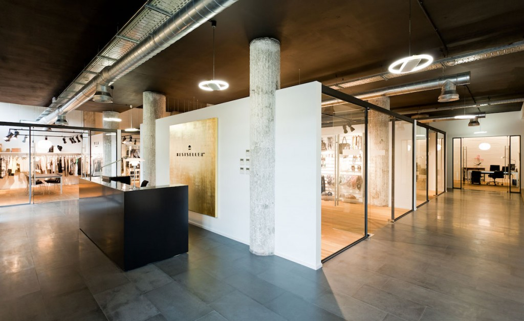 Oficinas del showroom Bestseller Bilbao diseñado por MEHR studio