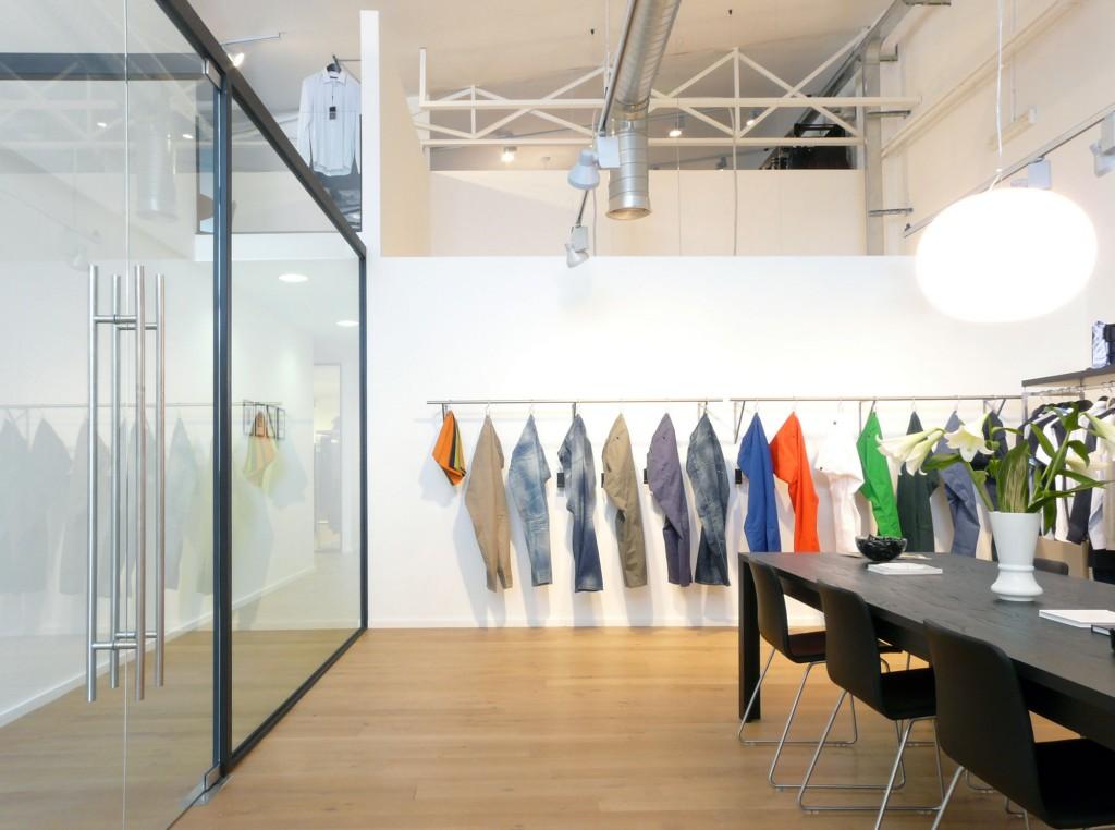 Showroom y oficinas de BestSeller Roma, diseñado por MEHR studio