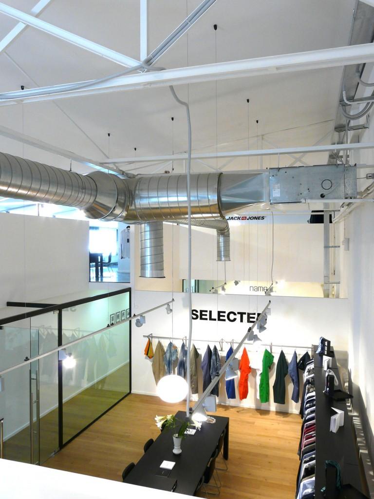 showroom Bestseller Roma diseñado por MEHR studio