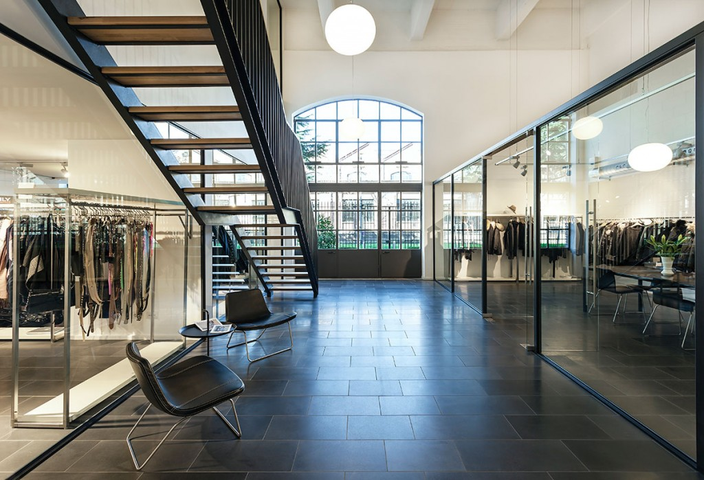 Showroom Bestseller Milano diseñado por MEHR studio